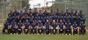 cricket coaches at KIOC