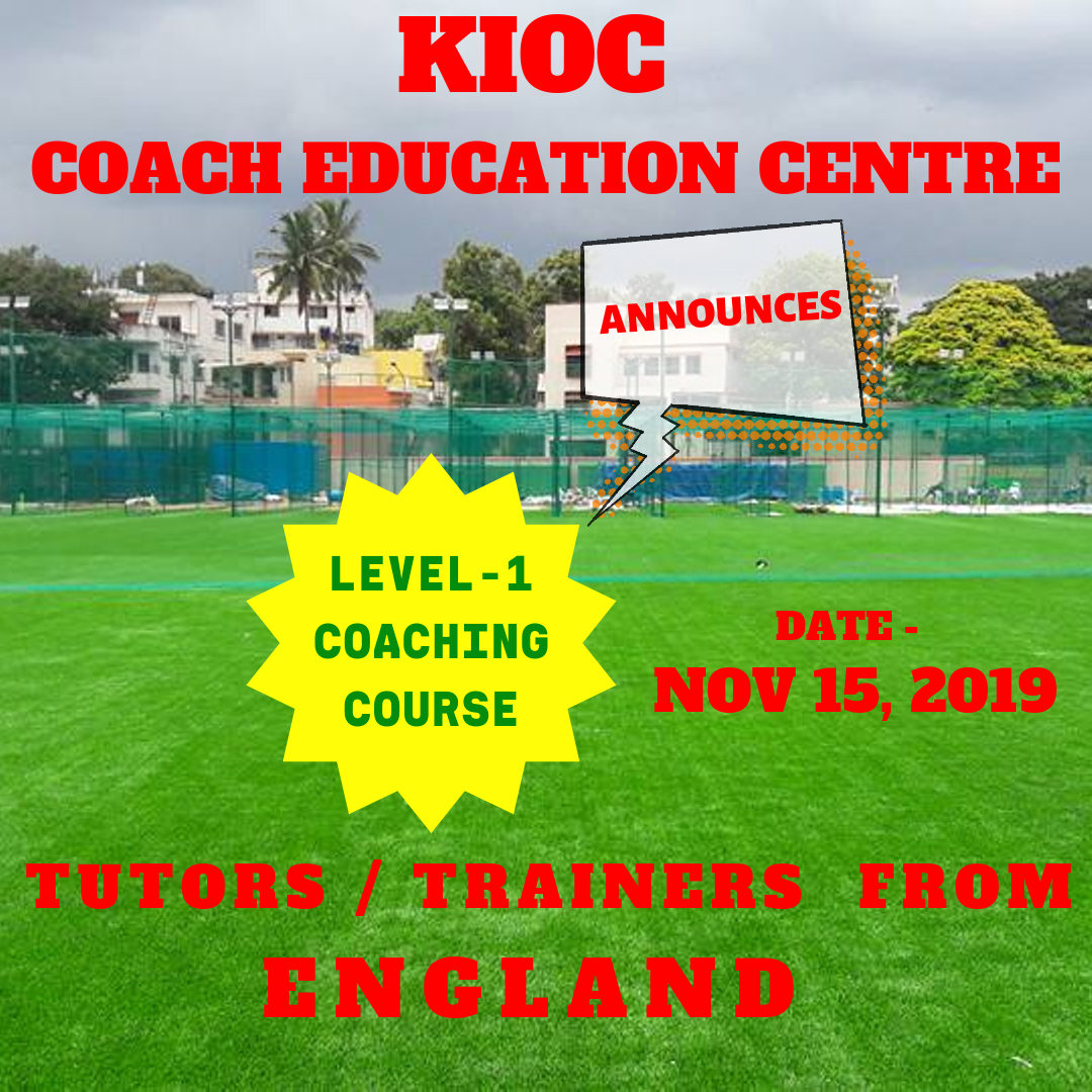 kioc cricket coach education course in india